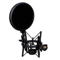 Hfes профессиональный держатель микрофона со встроенным микрофоном Mic Поп щит Поп фильтр