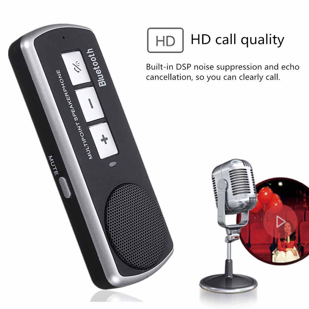 Динамик телефон Bluetooth 3,0 Автомобильный USB многоточечный Динамик ручной свободный комплект для видеорегистратор Стайлинг