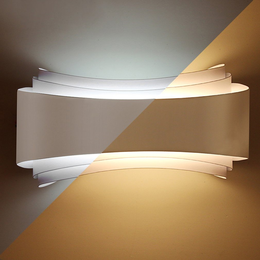 Lights & Lighting Analytical Modern Minimalism Led Wall Lights Hotel Living Room Aisle Bedside Wall Lamps Unique Design Long Lifespan Lighting Fixtures Removing Obstruction