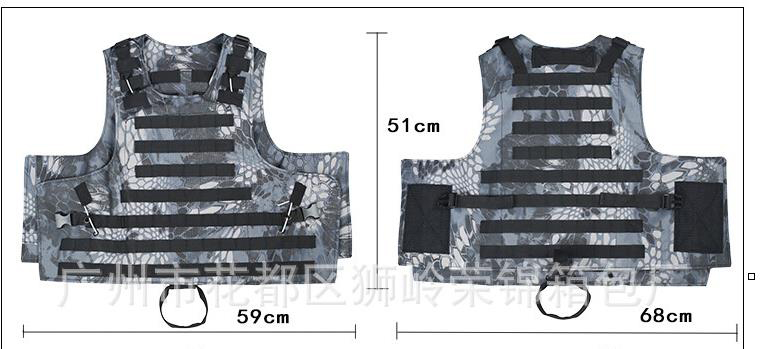 Back To Search Resultssports & Entertainment Live Cs Field Guard Vest Army Tactical Vest And Pack Wear Resistant Anti-piercing Equipment A4306 Camping & Hiking