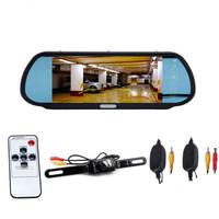 2017 7 TFT LCD Color HD Screen Display Car Rear View Backup Parking Mirror Monitor With