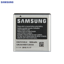 SAMSUNG Original Replacement Battery EB575152LU For Samsung Galaxy S I9000 I589 I8250 I919U I9003 Authentic Battery 1650mAh стоимость