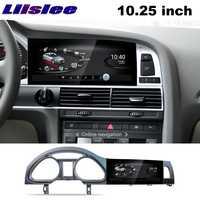 Pour Audi A6 A6L 2004 ~ 2011 NAVI LiisLee voiture multimédia CarPlay adaptateur GPS WIFI Audio Radio cadre Navigation carte grand écran
