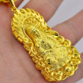 Delicate hollow out buddha pendant men women religious buddhists jewelry accessories