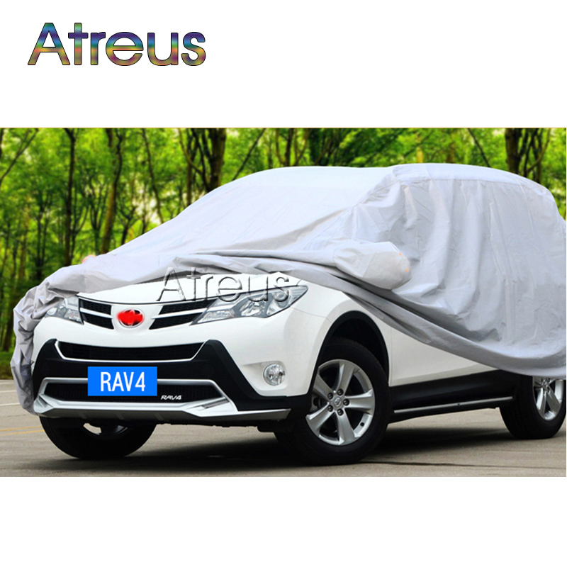 Atreus SUV L Waterproof Dustproof Car covers for BMW X1 Audi Q3 Q5 Volkswagen VW Tiguan Touran Peugeot 3008 4008 2008 Lifan x60 1 18 масштаб vw volkswagen новый tiguan l 2017 оранжевый diecast модель автомобиля