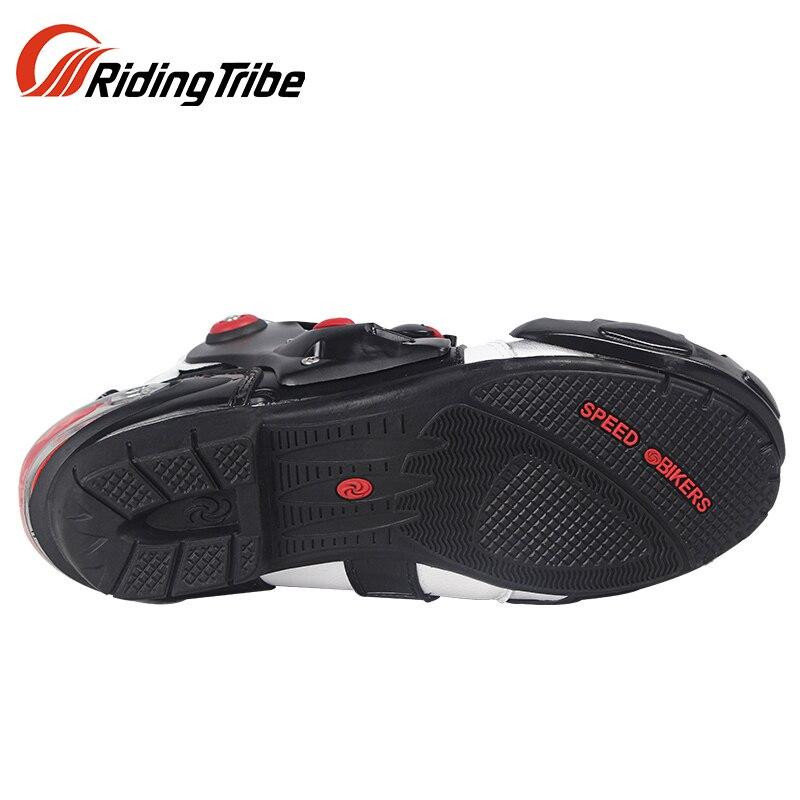 PRO-BIKER SPEED Racing Motorrad Stiefel Moto Off-Road Atmungsaktive Motorrad Outdoor Sport Schutz Schuhe Männer Botas 3 farben