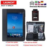 LAUNCH X431 V 8 Bluetooth Wi Fi Full System Car Diagnostic tool Support ECU Coding X 431 V Pro Mini Auto Scanner update online