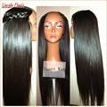 Hotsale Italian Yaki Upart Wig Virgin Hair Generous Long Yaki Straight U Part Wig Brazilian U Part Human Hair Wigs Yaki Straight