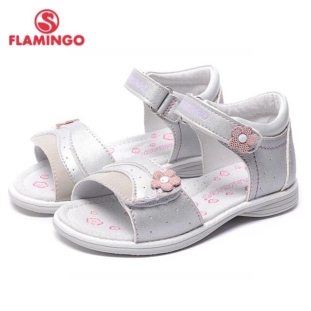 Flamingo известный бренд 2017 новых прибытия весенние и летние дети мода высокого качества сандалии для девочек 71s-hl-0244