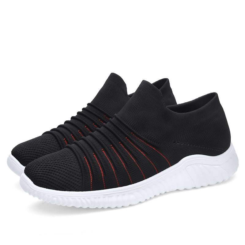 2019 Men Sock shoes white black red shoes lifestyle Platform lady Panda Triple S Men light running masculino famale unisex 36 44 in Running Shoes from Sports Entertainment