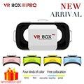 Р. Box 3.0 3 D Pro III Mini Vrbox Видео Gerceklik Google Картон Виртуальная Реальность Очки 3D Очки Смартфон Шлем гарнитура