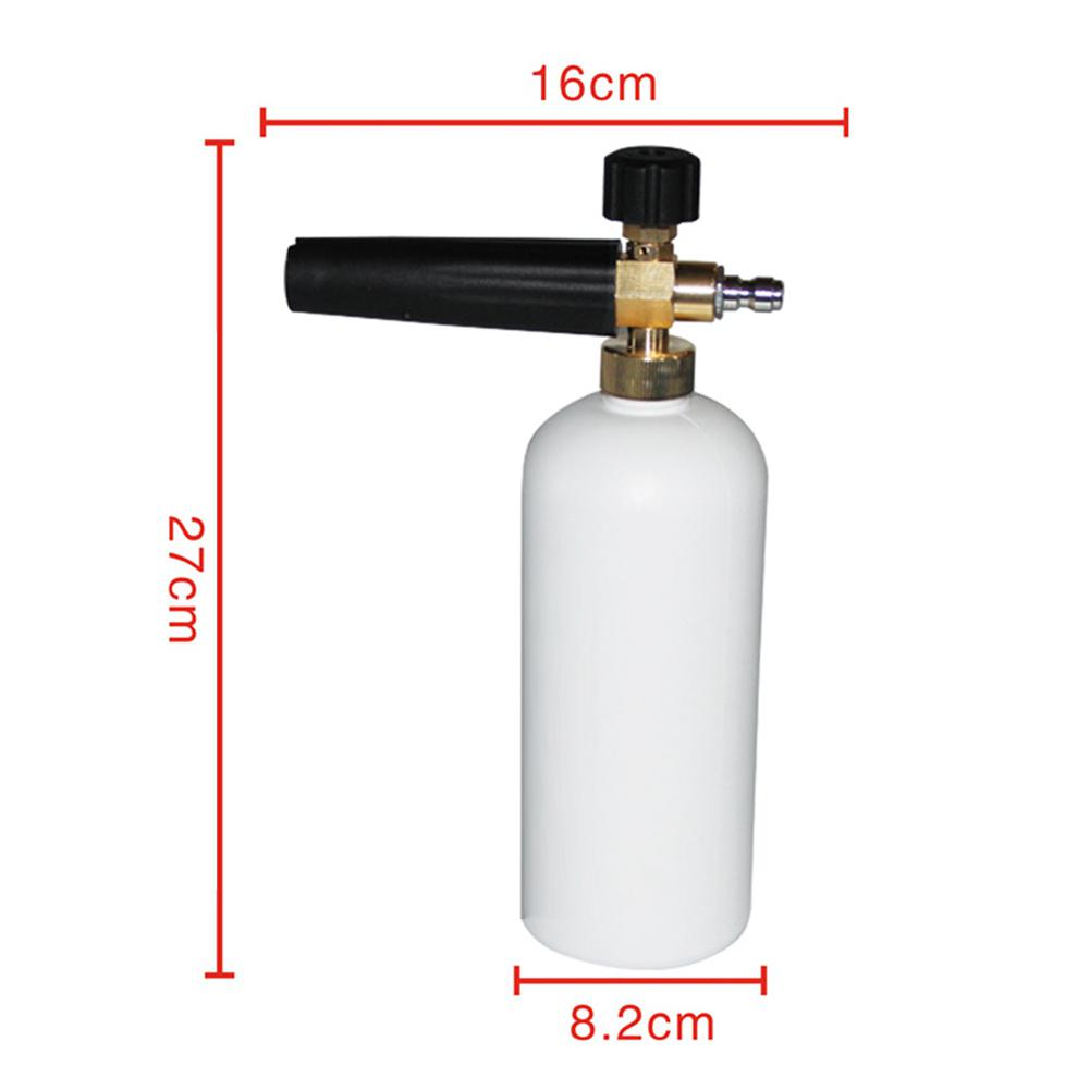 """Image 5 - Dragonpad 1/4"""" Adjustable Car Wash Gun Snow Foam Lance High Pressure Car Washer Bottle Cannon Tools-in Car Washer from Automobiles & Motorcycles"""