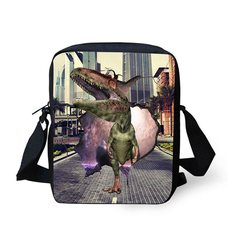2017 fashion All kinds of animals messenger bag small satchel horizontal bag boy casual girl / boy little handbag shoulder bag