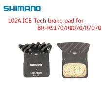 Shimano L02A Resin Road Bike Disc Brake Pads For BR-R9170 BR-R8070  BR-RS805 BR-RS505 BR-RS405 BR-RS305 BR-U5000 Bicycle
