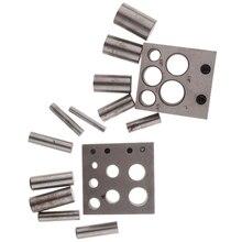 Набор инструментов для перфорации ювелирных изделий, набор инструментов для перфорации металлических колец