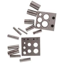 Bijoutiers disque Cutter poinçon ensemble métal cercle coupe poinçonnage outils bijoux faisant poinçon