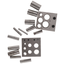 Juweliers Disc Cutter Punch Set Metalen Cirkel Snijden Ponsen Gereedschap Sieraden Maken Punch