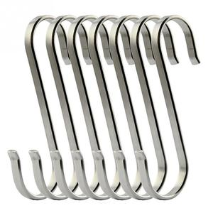 6pcs S Shaped Hooks Kitchen Ha