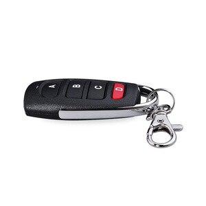 Image 4 - Universal Wireless 4 ปุ่ม 433MHz RF รีโมทคอนโทรลเครื่องส่งสัญญาณสำหรับเปิดประตูโรงรถประตูรหัสการเรียนรู้ Key FOB DI