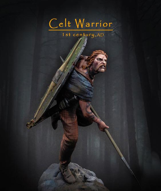 124-75mm--Celt Warrior, 1st c AD.
