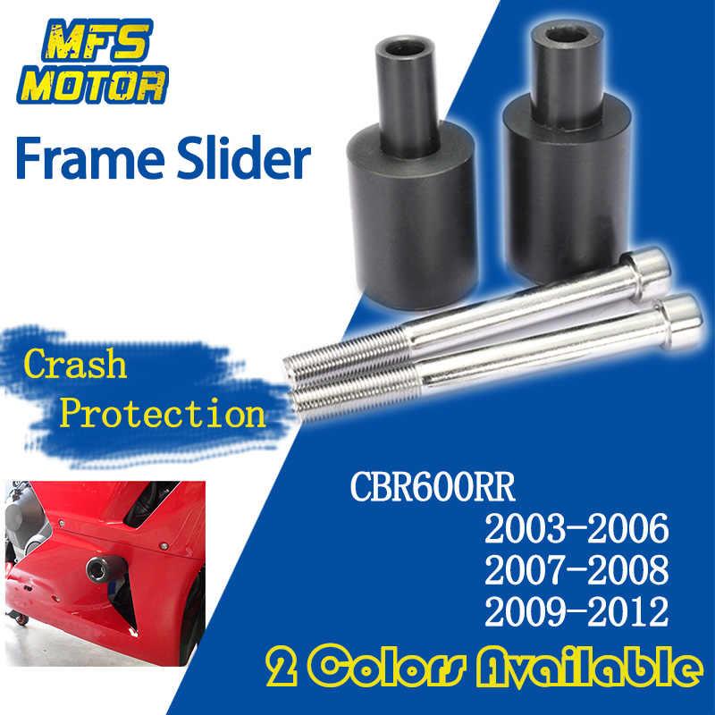 Engine Guard Sliders Crash Pad Protection for Honda CBR600RR F5 03-06 Blue