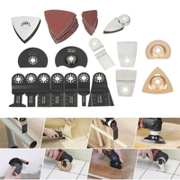 66pcs Mix Oscillating Blade Kit MultiTool Jig Saw Blades For Renovator Dremel Fein Multimaster Makita Bosch
