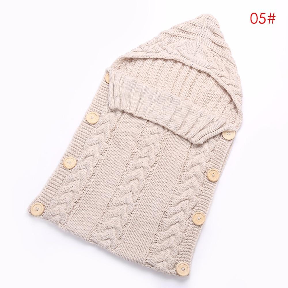 newborn infant <font><b>Baby</b></font> Toddler <font><b>Blanket</b></font> Swaddle wrap <font><b>blanket</b></font> Sleeping Bag Knit Crochet Wool Sack Stroller Wrap crib 0-1 Years