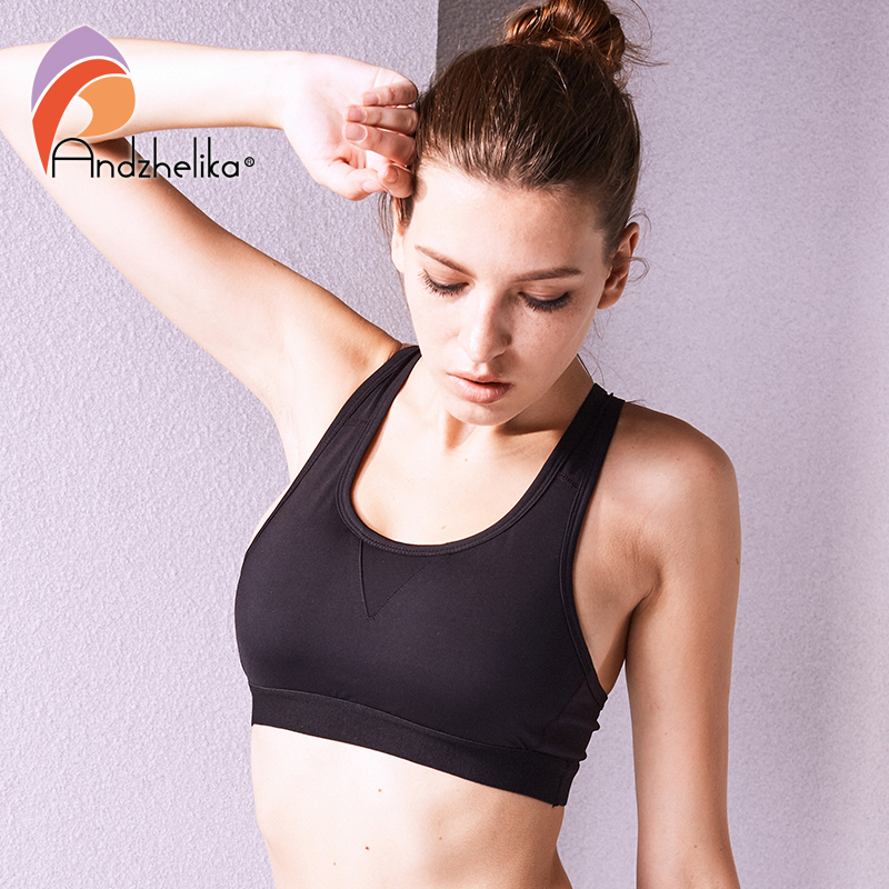 Breathable Cooling Summer Padded Yoga Sports Push Up Wireless Bra Crop Tank Top