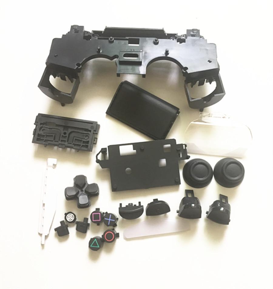Купить с кэшбэком Full set Housing Shell Case for Sony PS4 Pro 4.0 Version Wireless Controller JDS040 Mod Kit for Dualshock 4 Pro Repair Buttons