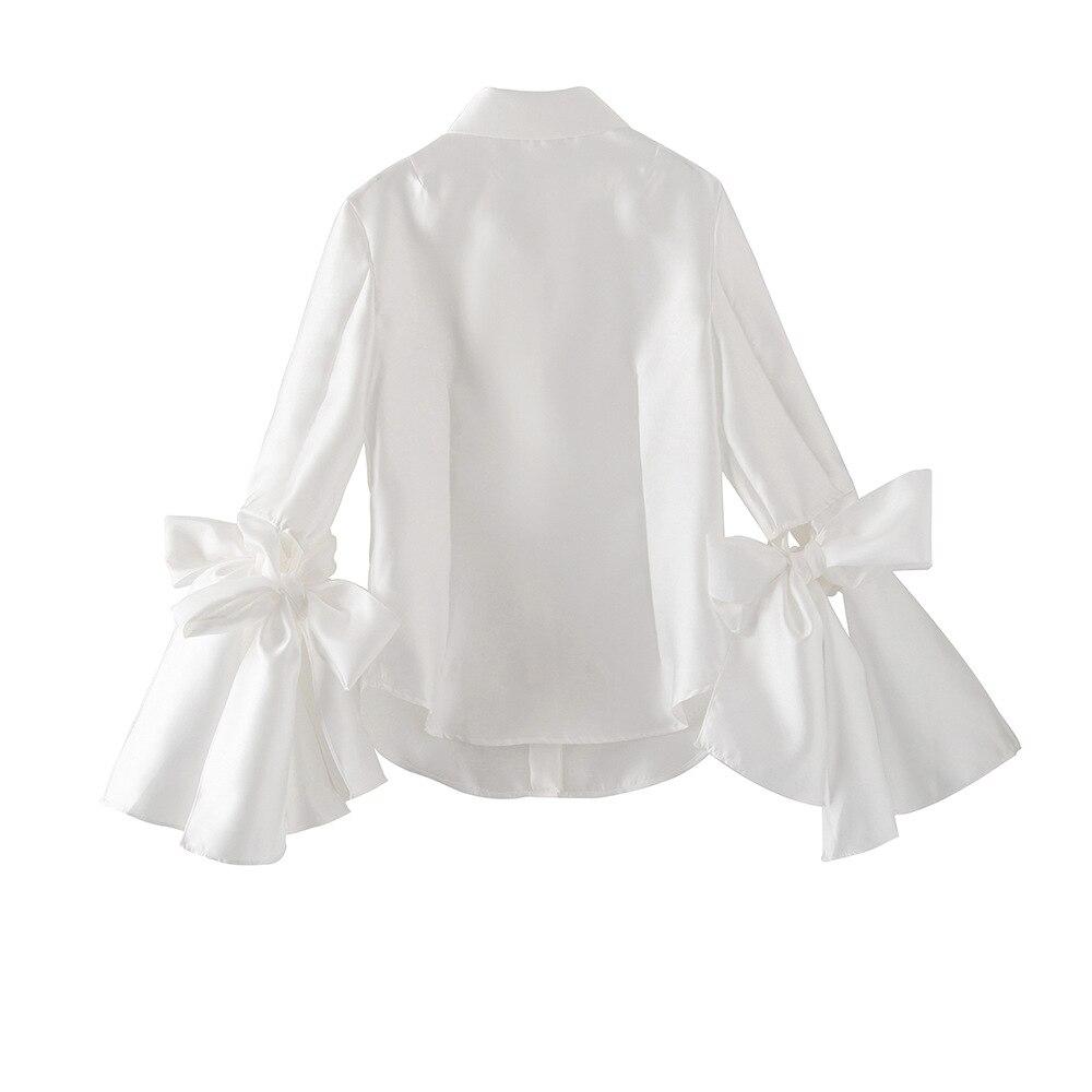 Blouses Noir Noir blanc Mode Blanc Haute Mujer De Office Lady Femmes Et Chemisier Blusas Qualité Dentelle Élégant Tops Européenne iXukZP