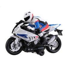 1 шт. 007/810 2,4G вращающийся на 360 ° Радиоуправляемый мотоцикл модель автомобиля с музыкальным пультом дистанционного управления детские игрушки подарок