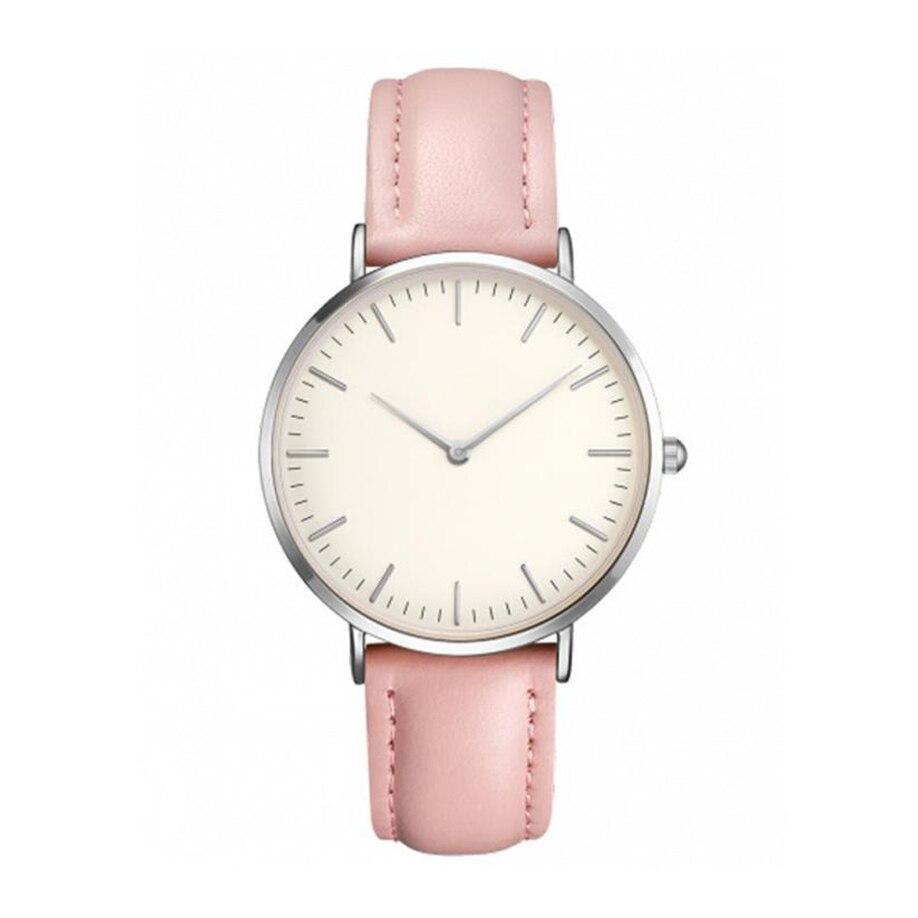 2018 New Fashion Quartz Watch Lovers Watches Women Men Ladies Dress Watch Leather Wristwatches Relogio Feminino Drop Shipping