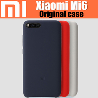 Xiaomi Mi6 Case Original 100 From Xiaomi Company Based On Snapdragon 835 Luxury Silicone Ultra Thin