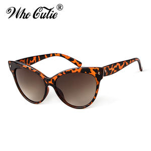 69625e2eb9 WHO CUTIE 2018 Vintage Frame Retro Lady Sun Glasses Shades