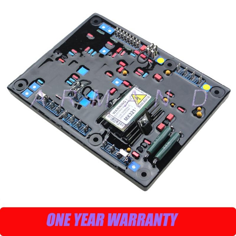 Generator AVR automatic voltage regulator MX321 3 phase voltage stabilizer rgv12100 robin generator avr automatic voltage regulator replacement parts