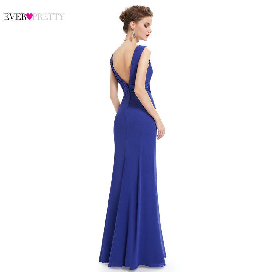 ... Long Royal Blue Prom Dress Ever Pretty 2017 EP08743 Women Pleat Sexy V- neck Empire Chiffon Formal Prom Dresses. Out Of Stock. 🔍 Previous. Next 279a2f929122