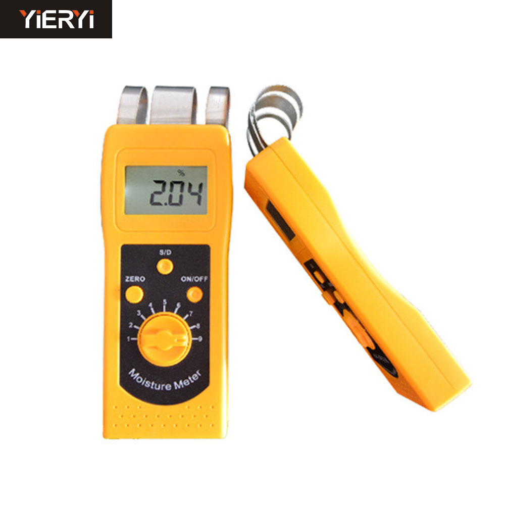 100% New Brand Instrument DM200T High Performance Portable Digital Textile Moisture Meter Humidity Measuring LCD Display mc 7806 digital moisture analyzer price with pin type cotton paper building tobacco moisture meter