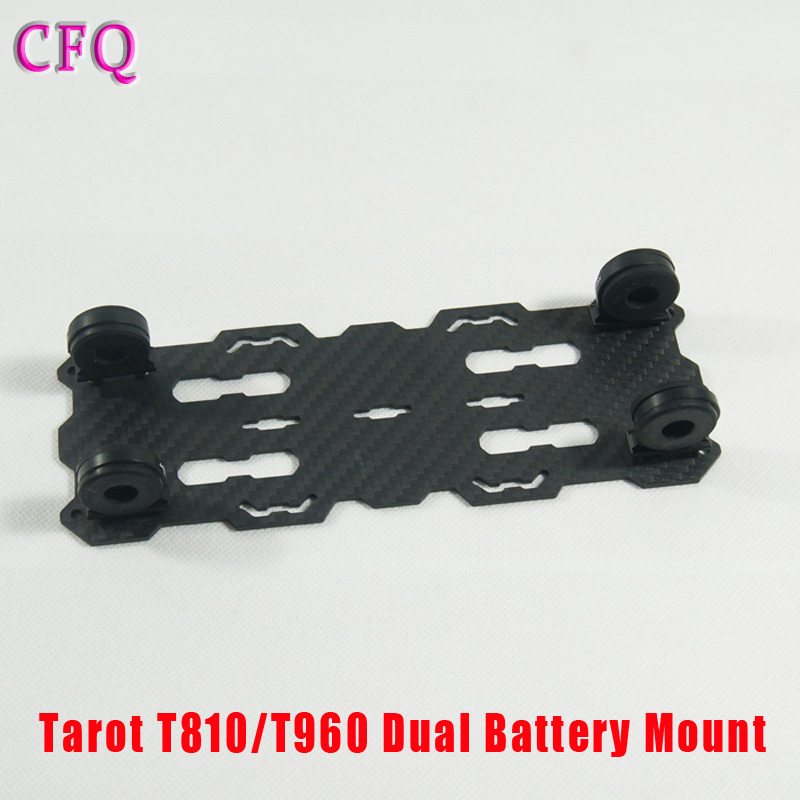 (CFQ) Tarot T810/T960 Dual Battery Mount plate TL96018 for RC kit Drone Diy  Quadcopter kit Tarot 810 960  Foldable carbon fiber f04305 sim900 gprs gsm development board kit quad band module for diy rc quadcopter drone fpv