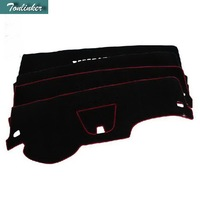 Tonlinker 1 PCS DIY NEW Polyester Dashboard Light Blocking Pad Case Stickers for Chevrolet Cruze 2009 15 Parts Accessories