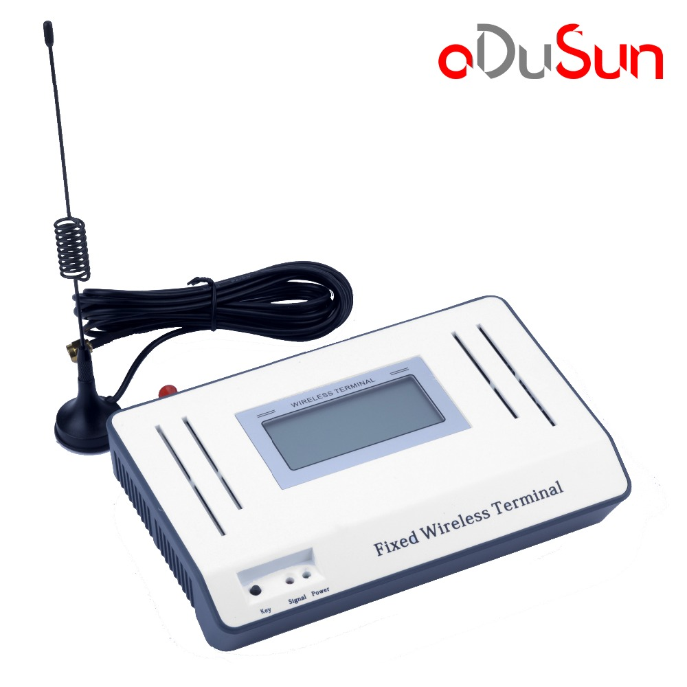 GSM 850//900//1800//1900MHZ Wireless Terminal With LCD Display Alarm System PABX