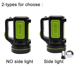 Image 2 - Lampe latérale lampe LED USB puissante rechargeable, lanterne à longue portée, lampe nocturne rechargeable, lampe de Camping pour les recherches