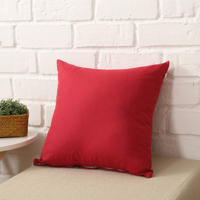 One Colored Pillow Case 5