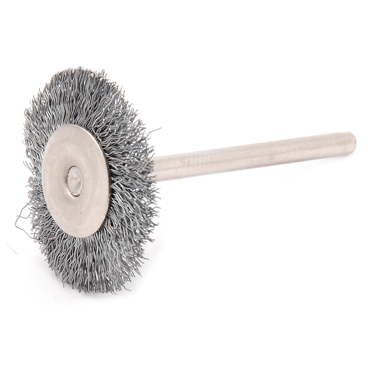 10 Pieces Polishing Grinding Tool 240 Grit 25mm x 24mm x 3mm Flap Wheel Brush
