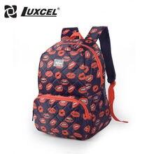 Luxcel Модные Школы Ежедневно Мода Рюкзак Женщины Рюкзак рюкзак путешествия школьные сумки для подростка 15.6 »сумка для ноутбука