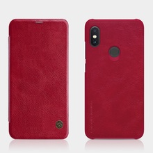 Redmi note 6 pro Case cover 6.26 NILLKIN Vintage Qin Flip Cover wallet PU leather PC back cover for xiaomi redmi note 6 pro
