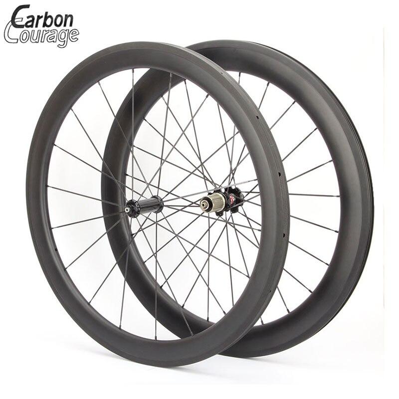 Легкий вес углерода велосипед колесной велосипед колеса 650С китайские колеса углерода 50 мм довод велосипед обод Ширина 23мм ручной сборки обода