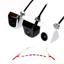 CCD 600 линии динамического траектории резервного копирования камера заднего вида переменной парковка линия цинковый сплав unversal камера подходят для всех автомобилей