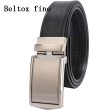 Mens Ratchet Belts With Automatic Buckle Premium Full Grain Leather Designer Size 28-52 Ceinture Big and Tall Belt