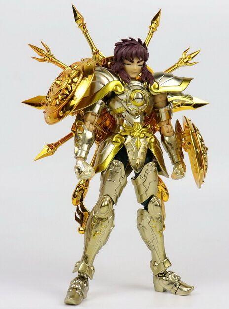 في المخزون Chuanshen نموذج الميزان Dohko sog الروح الله الذهب EX العمل المعادن درع-في شخصيات دمى وحركة من الألعاب والهوايات على  مجموعة 1