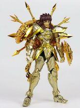 Chuanshen modelo liva dohko sog sog, figura de ação dourado ex de metal armadura